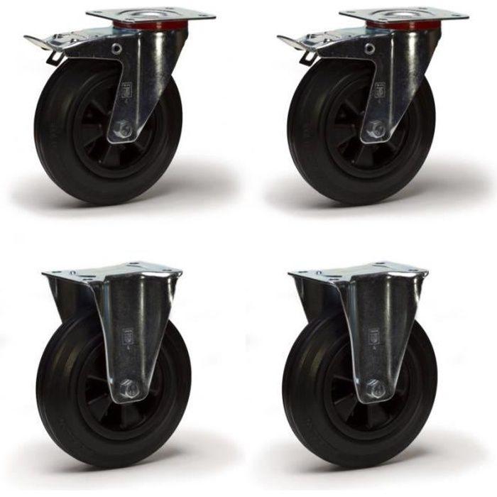 roulette pour chariot achat vente roulette pour chariot pas cher cdiscount. Black Bedroom Furniture Sets. Home Design Ideas