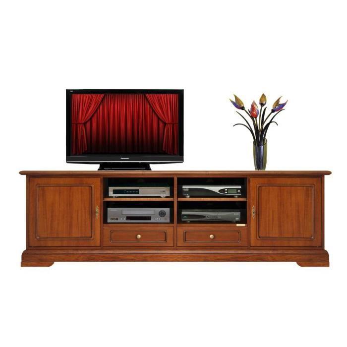 meuble tv pour salon 200 cm largeur achat vente meuble. Black Bedroom Furniture Sets. Home Design Ideas