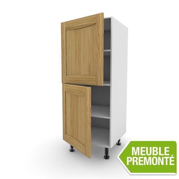meuble demi colonne 122x60 2 portes lounge asturias achat vente l ments colonne meuble demi. Black Bedroom Furniture Sets. Home Design Ideas