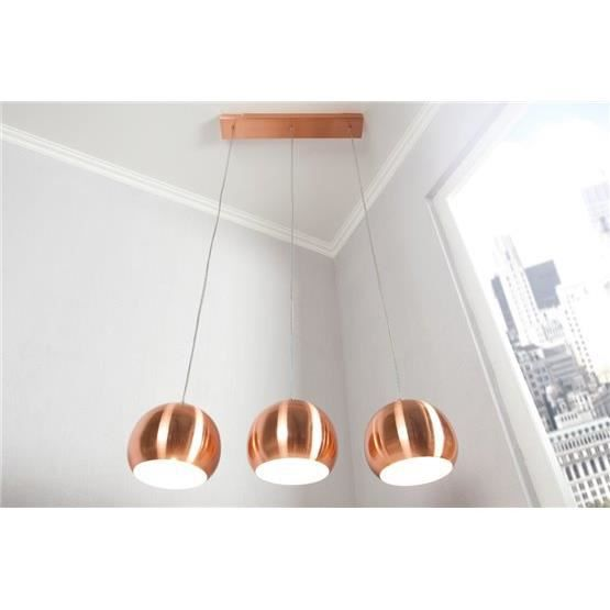 Suspension design chromball3 cuivre achat vente suspension design chromba - Suspension cuivre design ...