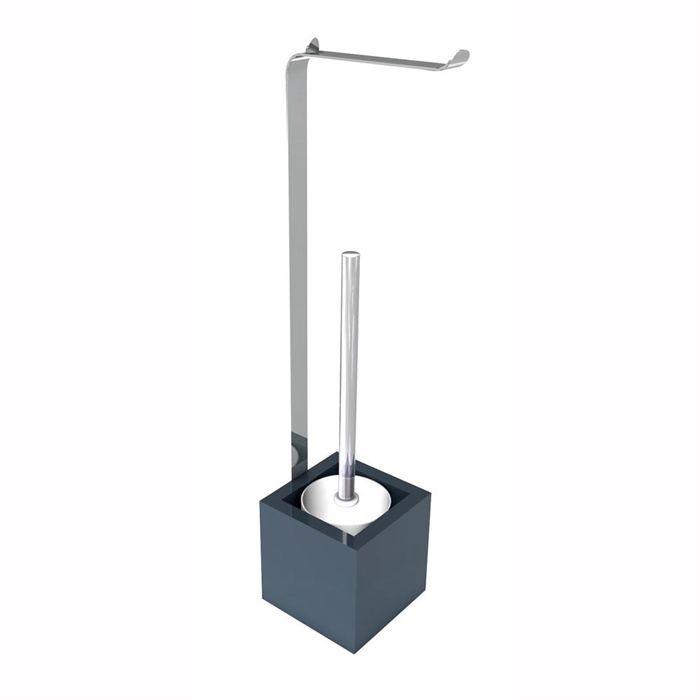 gelco design serviteur impulsion gris anthracite achat vente serviteur wc impulsion. Black Bedroom Furniture Sets. Home Design Ideas