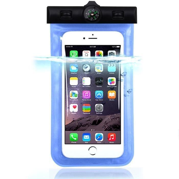 Novago housse tanche pour iphone 6 iphone 6 plus for Housse etanche pour iphone