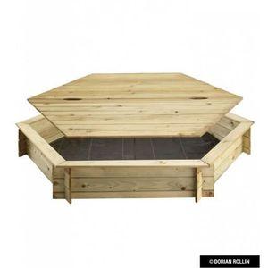 bac sable avec couvercle achat vente pas cher. Black Bedroom Furniture Sets. Home Design Ideas