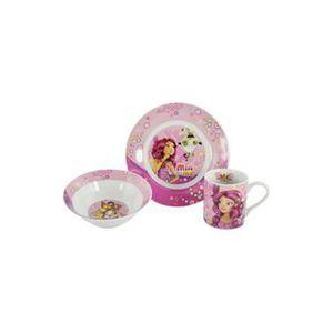 Mia meset petit d jeuner butterfly achat vente bol for Set petit dejeuner porcelaine