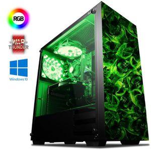 UNITÉ CENTRALE  VIBOX Precision 6XW PC Gamer - AMD 4-Core, GT 710