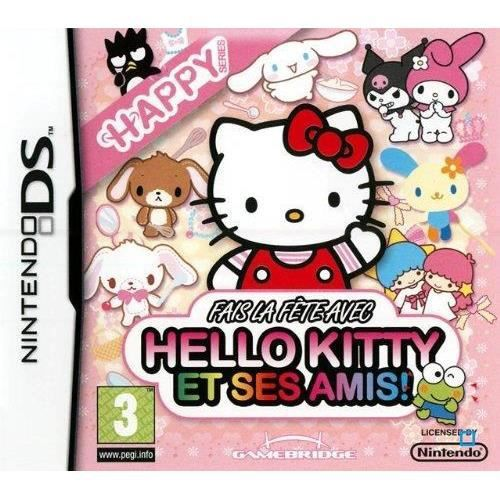 JEU DS - DSI HELLO KITTY / JEU CONSOLE NINTENDO DS