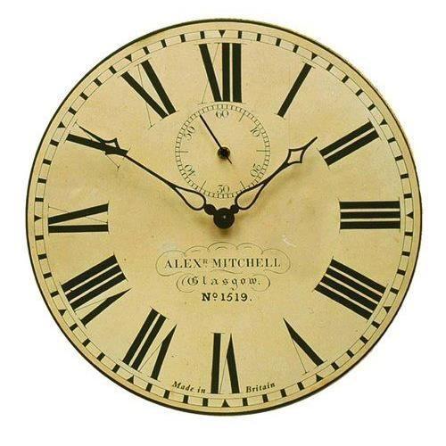 Roger lascelles horloge murale gare de glasgow aiguille - Horloge murale de gare ...
