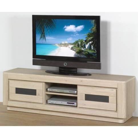 Meuble tv hifi vid o 180 cm royal ii l 180 x p 48 x h 55 for Meuble tv mural 180 cm