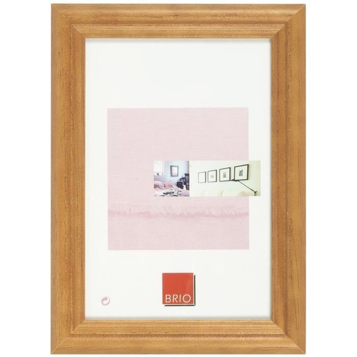 Brio cadre photo circ e ton bois 60x80 cm achat vente cadre photo bois cadeaux de no l - Cadre x ...
