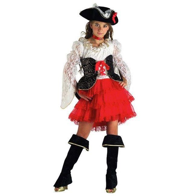 d guisement pirate des 7 mers fille 6 ans achat vente d guisement panoplie cdiscount. Black Bedroom Furniture Sets. Home Design Ideas