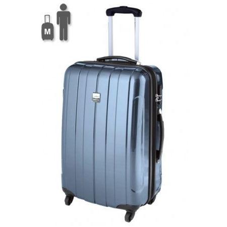 france bag valise rigide 60 cm cancun bleu m tal bleu. Black Bedroom Furniture Sets. Home Design Ideas