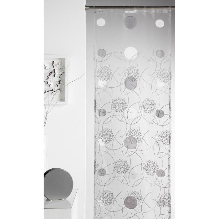 panneau japonais brod motifs 39 lune 39 achat vente panneau japonais plastique 100 polyester. Black Bedroom Furniture Sets. Home Design Ideas