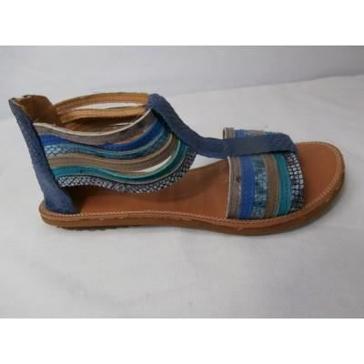 sandales couleur pourpre e11203 bleu bleu bleu achat vente sandale nu pieds cdiscount. Black Bedroom Furniture Sets. Home Design Ideas