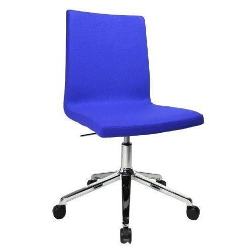 Topstar sea290l56 sitness cube chaise de bureau avec for Chaise de bureau bleu