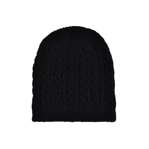 bonnet torsade noir homme femme noir achat vente bonnet cagoule 3700651217068 cdiscount. Black Bedroom Furniture Sets. Home Design Ideas
