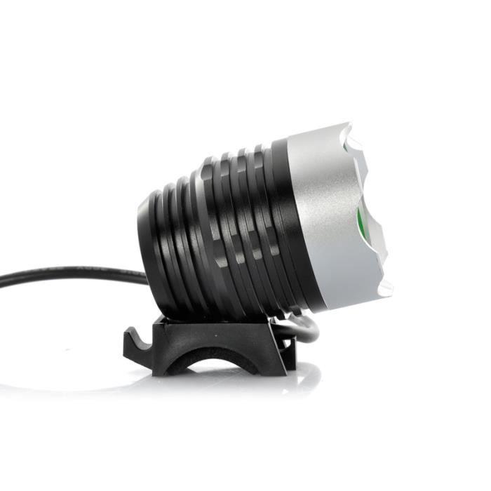 lampe de v lo lampe de t te cree xm l 1000 achat vente eclairage pour cycle lampe de. Black Bedroom Furniture Sets. Home Design Ideas
