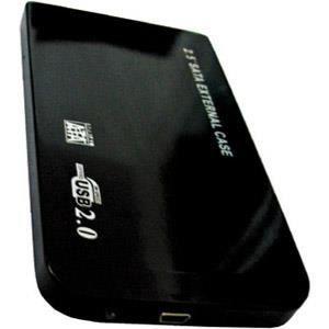 """BOITIER POUR COMPOSANT Boitier alu USB 2.0 pour disque dur 2.5"""" SATA"""