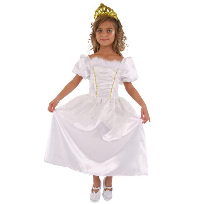 cesar c692 robe princesse blanche 8 10 ans achat. Black Bedroom Furniture Sets. Home Design Ideas