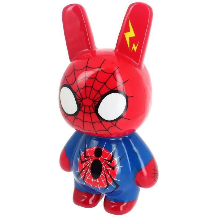 sculpture crazy bunny pop art spiderman factory figurine g ante achat vente objet d coratif. Black Bedroom Furniture Sets. Home Design Ideas