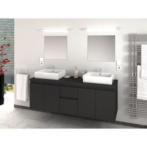 Double vasque achat vente double vasque pas cher for Meuble salle de bain pas cher double vasque