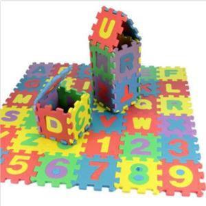 PUZZLE 36pcs / set Puzzle souples en mousse Bébé enfant E
