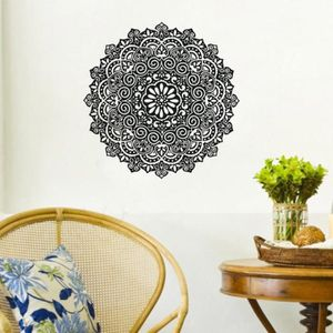 stickers mural mandala achat vente stickers mural mandala pas cher soldes cdiscount. Black Bedroom Furniture Sets. Home Design Ideas