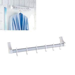 support barre de penderie achat vente support barre de penderie pas cher cdiscount. Black Bedroom Furniture Sets. Home Design Ideas