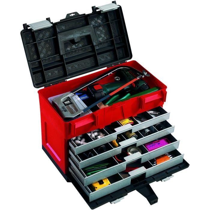 Coffre outils plastique vide usage industriel achat vente boite caisse a outil - Petite caisse a outil ...