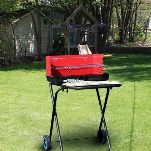 Barbecue barbecue charbon de bois lbh jardin 1013 for Barbecue de jardin