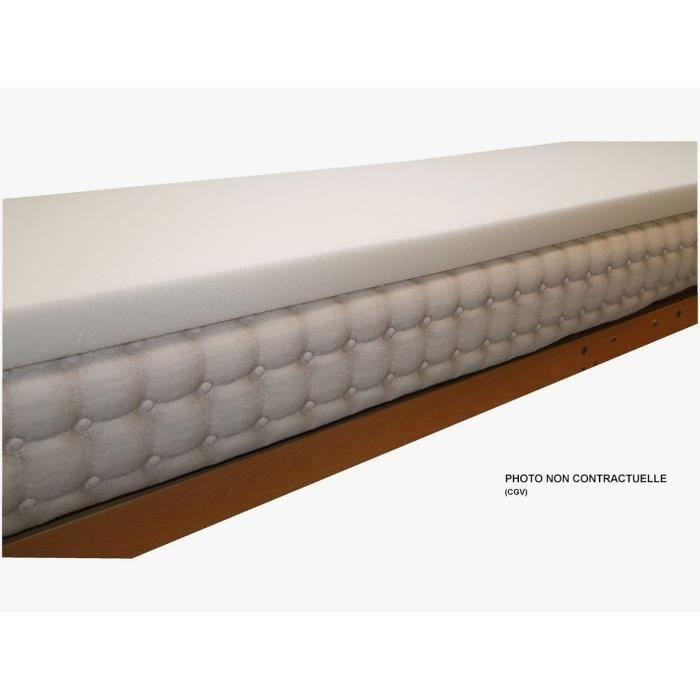 sur matelas mousse m moire de forme visco lastique 80x190 cm achat vente sur matelas. Black Bedroom Furniture Sets. Home Design Ideas