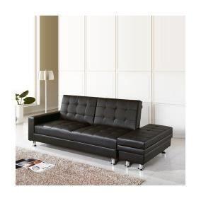 cupidon canap convertible noir coffre de r achat. Black Bedroom Furniture Sets. Home Design Ideas