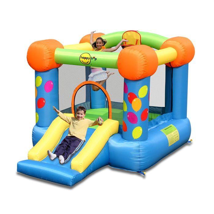 Happy hop ch teau aire de jeux gonflable air puls for Aire de jeu gonflable piscine