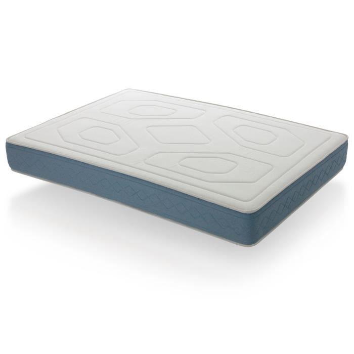 matelas visco 4 jumeaux 2x80x190 achat vente matelas cdiscount. Black Bedroom Furniture Sets. Home Design Ideas