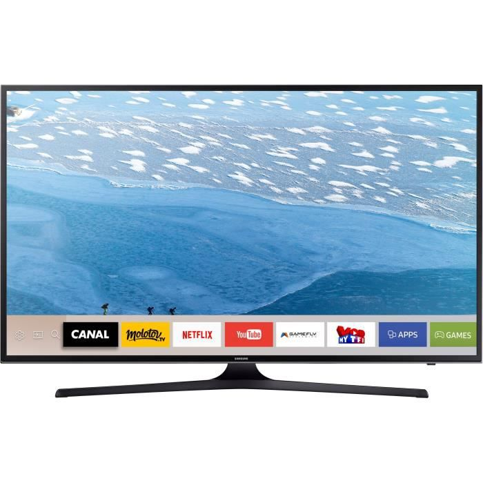 samsung ue55ju6070 tv led 4k uhd 138 cm 55 smart. Black Bedroom Furniture Sets. Home Design Ideas