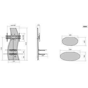 meliconi ghost design 2000 - achat / vente meliconi ghost design ... - Meuble Tv Mural Meliconi Ghost Design 2000