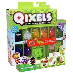Mega recharges Qixels (1200 recharges - 10 couleurs) - SAISON 2