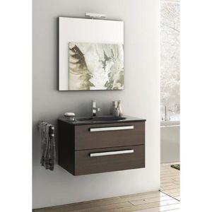 meuble salle de bain 70 cm achat vente meuble salle de. Black Bedroom Furniture Sets. Home Design Ideas