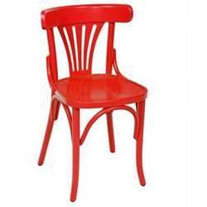 lot de 4 chaises bistro rouge achat vente fauteuil jardin lot de 4 chaises bistro rouge. Black Bedroom Furniture Sets. Home Design Ideas