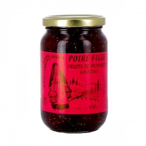 abbaye n d de l annonciation confiture de poire et figue 430 g fruits de provence achat. Black Bedroom Furniture Sets. Home Design Ideas