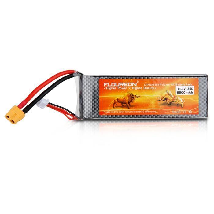 floureon 3s 35c batterie lipo 5500mah 11 1v xt60 pour rc mod lisme rc voiture rc avion rc. Black Bedroom Furniture Sets. Home Design Ideas