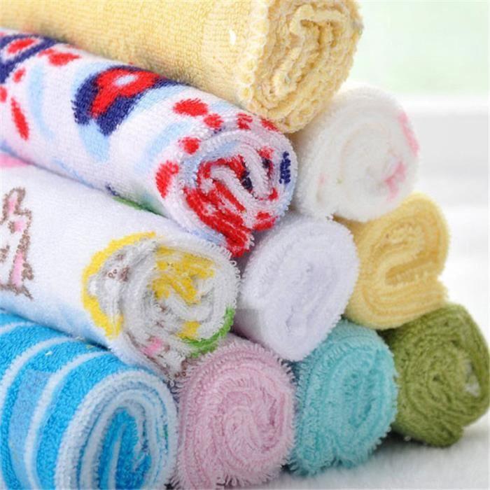 8 pcs serviette de salive laver le visage pour b b multifonctionnel achat vente serviette. Black Bedroom Furniture Sets. Home Design Ideas