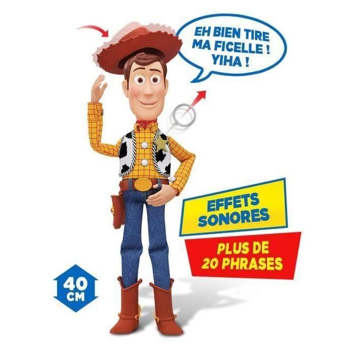 toy story figurine parlante woody 40cm achat vente. Black Bedroom Furniture Sets. Home Design Ideas
