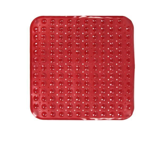 tapis de douche rouge achat vente tapis de bain. Black Bedroom Furniture Sets. Home Design Ideas