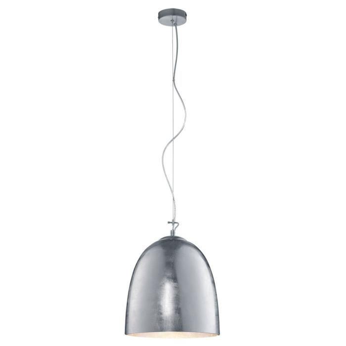 suspension l gant clairage lustre luminaire verre opale salle manger couloir achat vente. Black Bedroom Furniture Sets. Home Design Ideas