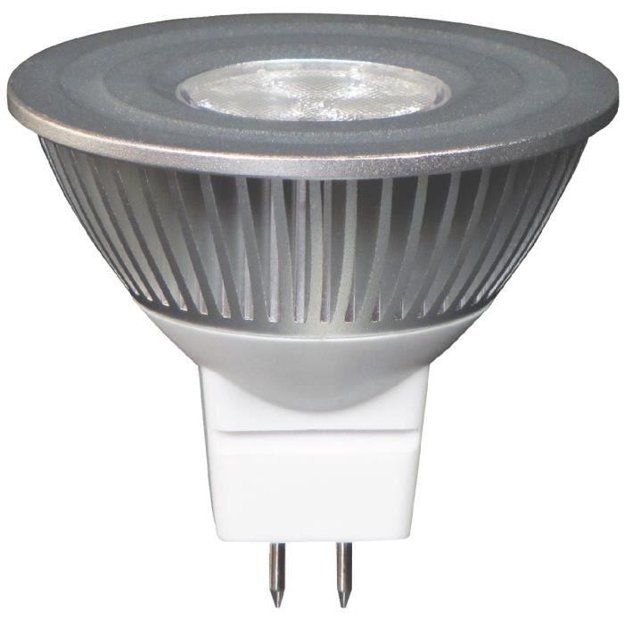 lampe led r flecteur gu5 3 ge 390lum 7w achat vente lampe led r flecteur gu5 3 les. Black Bedroom Furniture Sets. Home Design Ideas