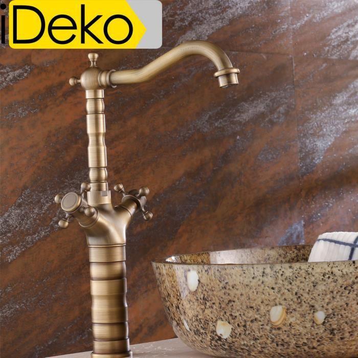 Ideko robinet mitigeur lavabo salle de bain et cuisine en for R s bains advocate