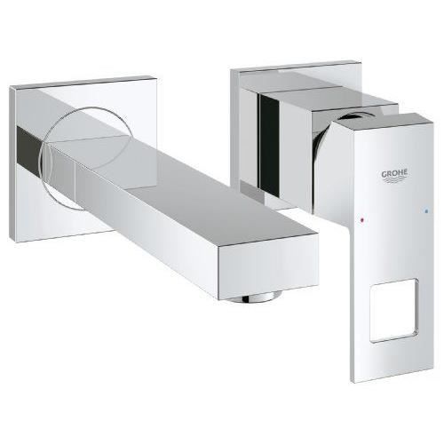 Grohe eurocube mitigeur lavabo montage mural 19895000 - Robinetterie cuisine grohe ...