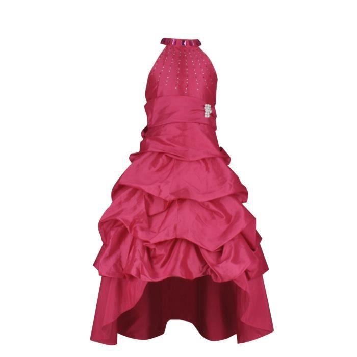robe de demoiselle d 39 honneur enf rose achat vente robe de c r monie soldes cdiscount. Black Bedroom Furniture Sets. Home Design Ideas