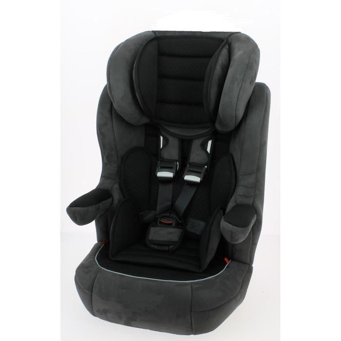 siege auto rehausseur i max premium noir gris gr1 2 3. Black Bedroom Furniture Sets. Home Design Ideas