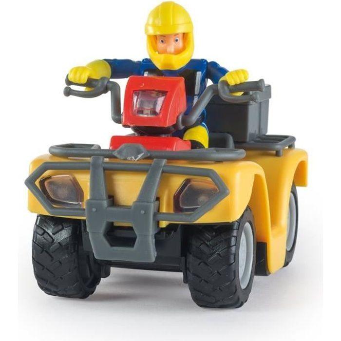 Sam le pompier quad mercure achat vente figurine - Sam le pompier personnages ...